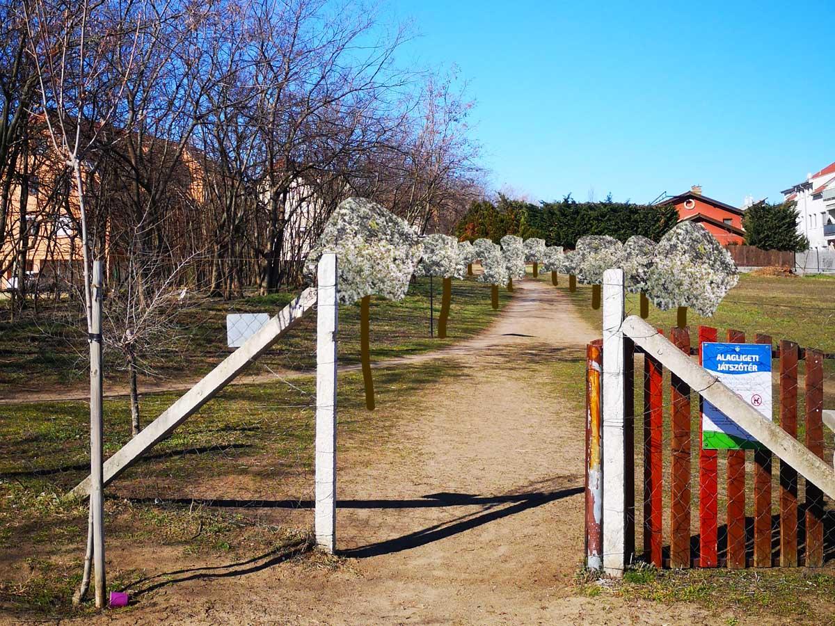 Rejtelmek ösvénye – Látványterv , tavasz
